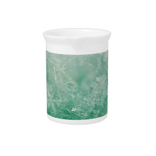 Cristales del copo de nieve jarrones