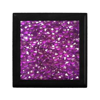 Cristales perfectamente rosados caja de recuerdo