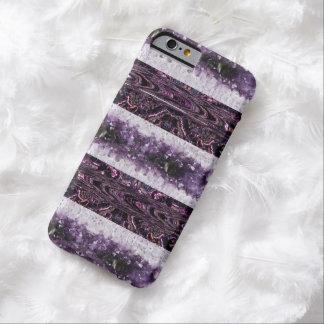 Cristales púrpuras funda barely there iPhone 6