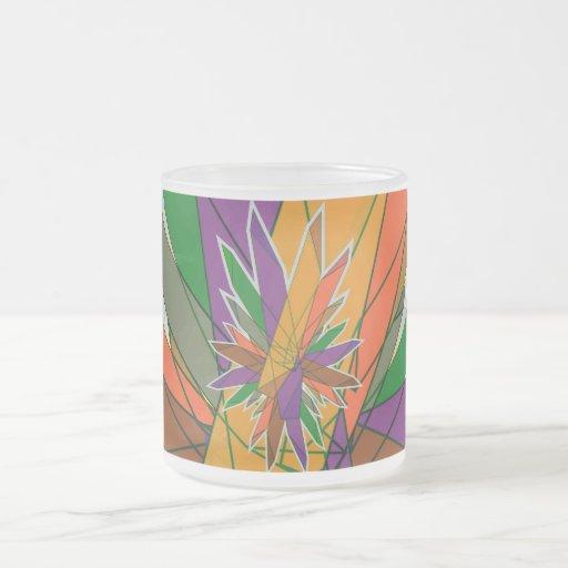 cristales taza de café