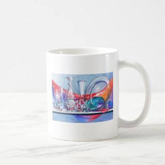 Cristalino en taza del color