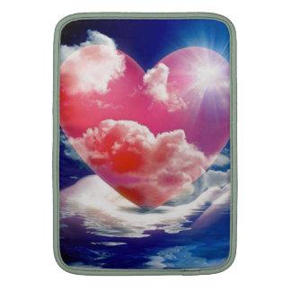 cristallo di cuore MacBook air sleeve