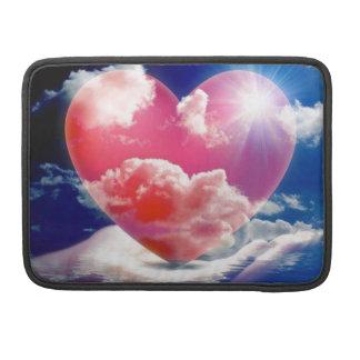 cristallo di cuore sleeve for MacBooks