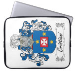 Cristiani Family Crest Computer Sleeves