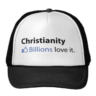 Cristianismo Amor de los mil millones él Gorro De Camionero