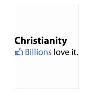 Cristianismo Amor de los mil millones él Postales
