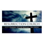 Cristianismo cristiano del pastor de la religión tarjetas de visita