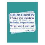 Cristianismo - de la importancia infinita postal
