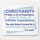 Cristianismo - de la importancia infinita alfombrillas de ratones