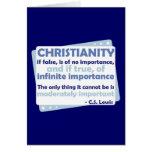 Cristianismo - de la importancia infinita felicitación