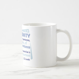 Cristianismo - de la importancia infinita tazas de café