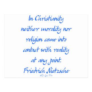 Cristianismo de Nietzsche Postales
