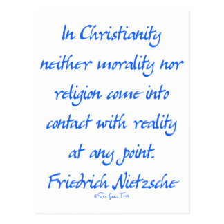 Cristianismo de Nietzsche Postal