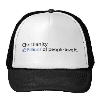 Cristianismo Mil millones de amor de la gente él Gorro De Camionero