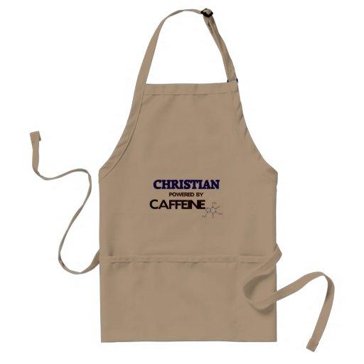Cristiano accionado por el cafeína delantal