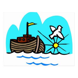 Cristiano artwork_1 de la arca de Noah Postal