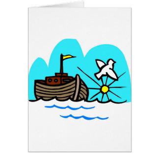 Cristiano artwork_1 de la arca de Noah Tarjeta De Felicitación