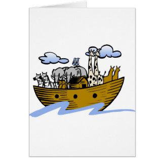 Cristiano artwork_3 de la arca de Noah Tarjeta De Felicitación