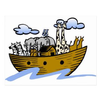 Cristiano artwork_3 de la arca de Noah Tarjeta Postal