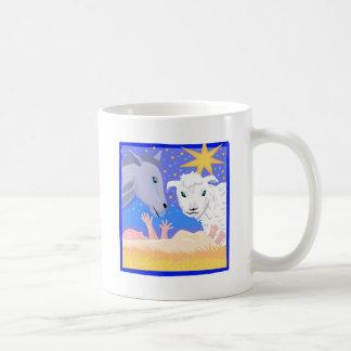 Cristiano artwork_3 del pesebre taza de café