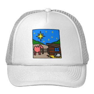 Cristiano artwork_4 del pesebre gorras de camionero