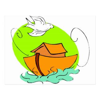 Cristiano artwork_5 de la arca de Noah Postal