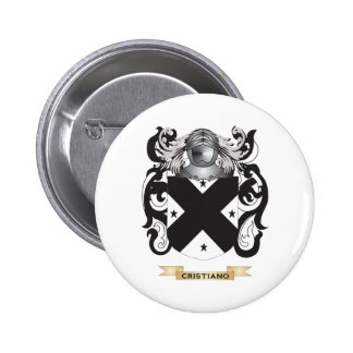 Cristiano Coat of Arms Pinback Buttons