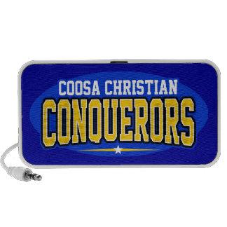 Cristiano de Coosa; Conquistadores Sistema Altavoz