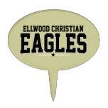 Cristiano de Ellwood; Eagles Figura Para Tarta