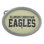 Cristiano de Ellwood; Eagles Hebillas De Cinturón