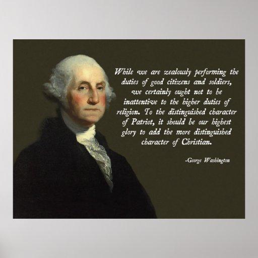 Cristiano de George Washington Posters