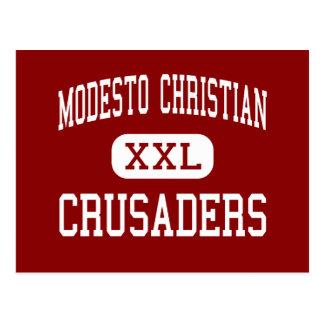Cristiano de Modesto - cruzados - alto - Modesto Tarjeta Postal