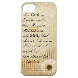 Cristiano del 3:16 de Juan, Pascua, cubierta del i iPhone 5 Case-Mate Carcasas