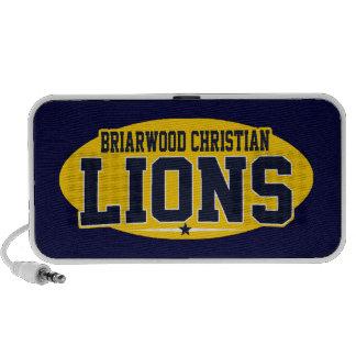 Cristiano del Briarwood; Leones Laptop Altavoz
