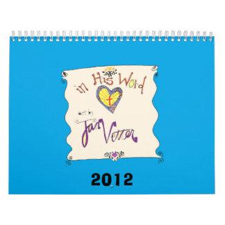 Cristiano del calendario 2012