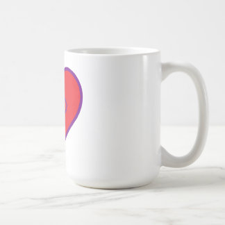 cristiano del l♥v'n'it taza básica blanca