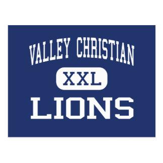 Cristiano del valle - leones - alto - Brownsville Tarjetas Postales