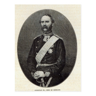 Cristiano IX, rey de Dinamarca Postales
