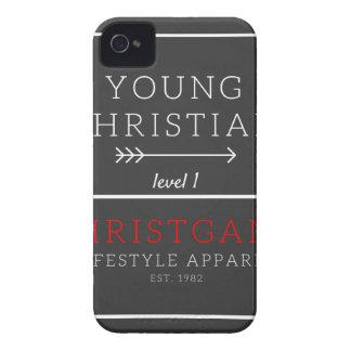 Cristiano joven - nivel 1 carcasa para iPhone 4 de Case-Mate