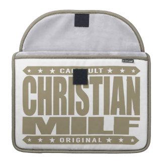 CRISTIANO MILF - Madre devota que quisiera a la fe Funda Para Macbooks