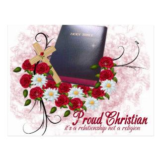 Cristiano orgulloso. Es una relación no un Religi Postal