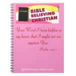 Cristiano rosado cuaderno