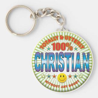 Cristiano totalmente llavero
