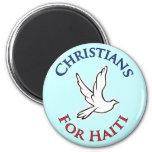 Cristianos del beneficio - para Haití Imán Para Frigorifico