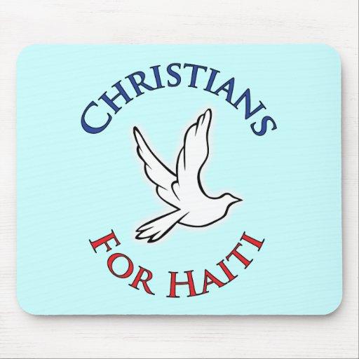 Cristianos del beneficio - para Haití Alfombrilla De Raton