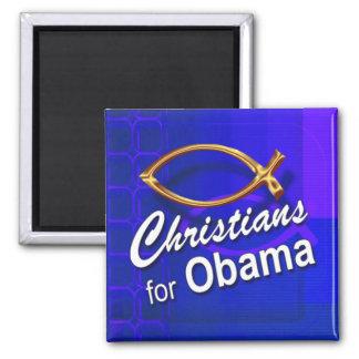 Cristianos para el imán de Obama (pescado/azul)