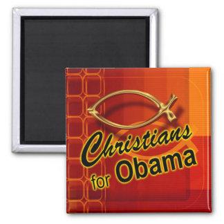 Cristianos para el imán de Obama (pescado/naranja)