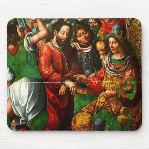 Cristo ante Herodes Mouse Pad