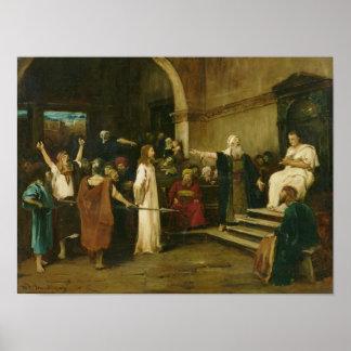 Cristo antes de Pilate, 1880 Posters