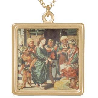 Cristo antes de Pilate Colgante Cuadrado